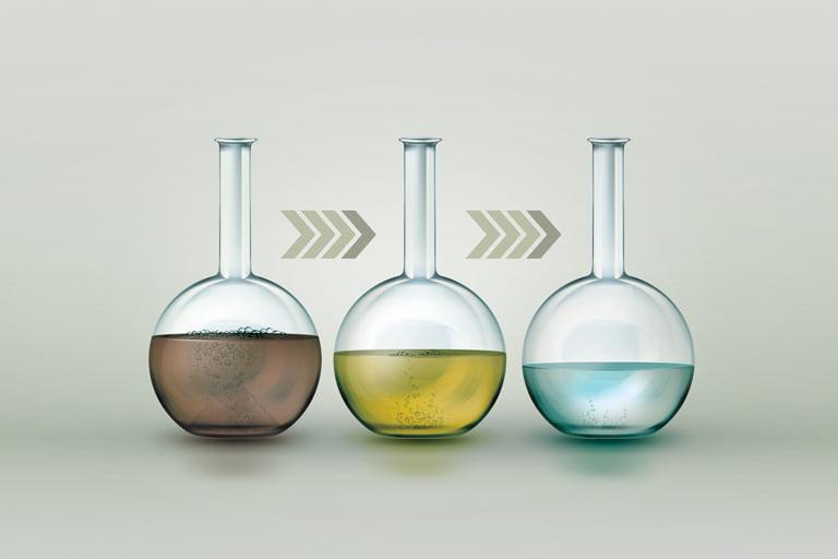 Uzdatnianie wody i oczyszczanie ścieków.  Przegląd wybranych technologii chemicznych